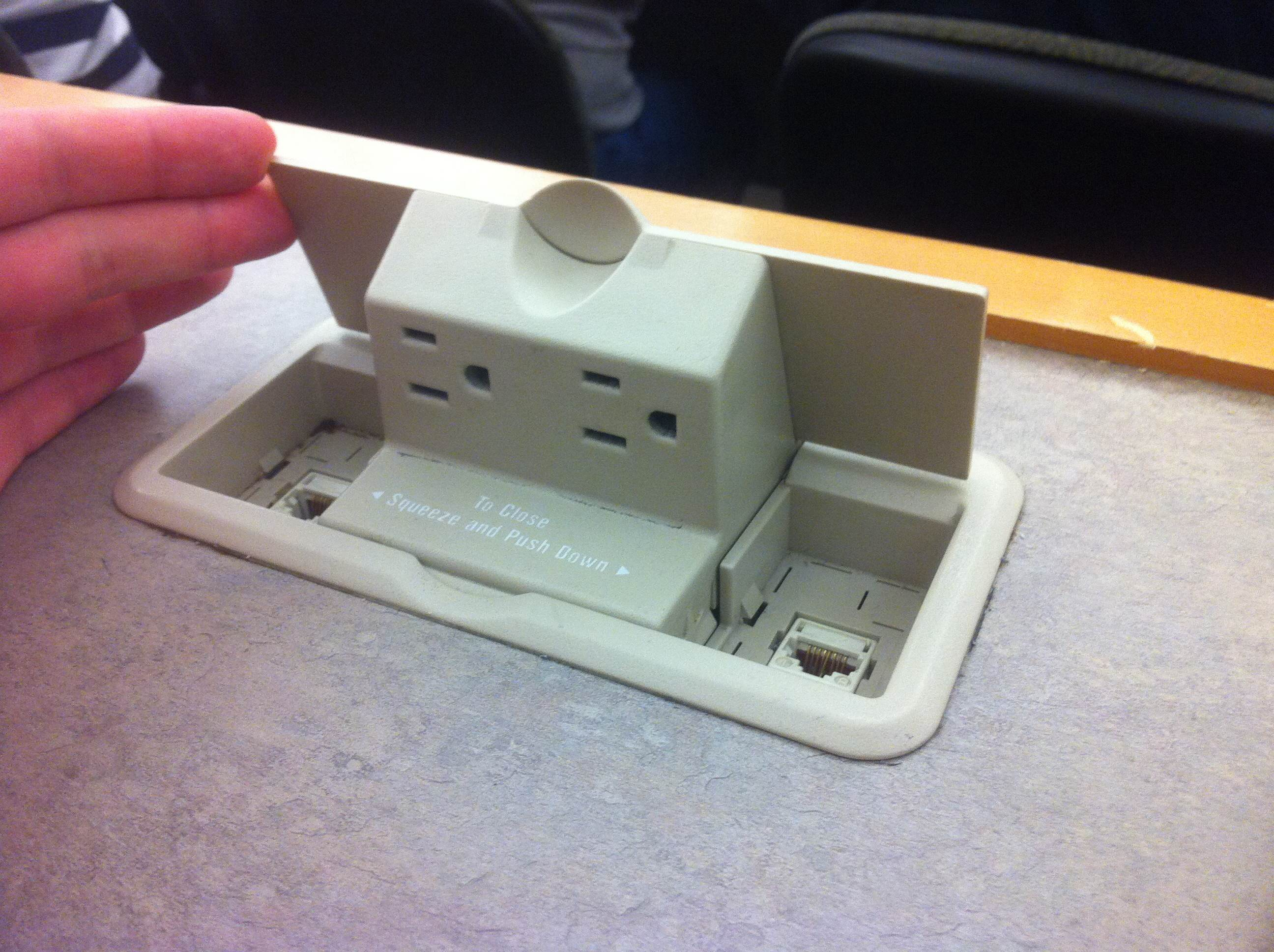 Law School desk outlet profile